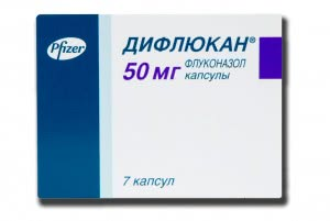 Таблетки Дифлюкан