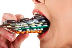 Употребление антибиотиков