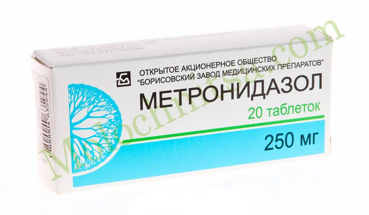 Метронидазол от молочницы — инструкция по применению