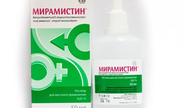 Использование препарата Мирамистин при молочнице
