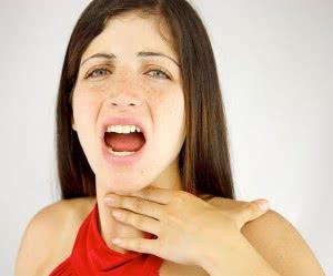 сухость в горле и молочница