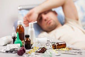 простуда, антибиотики и глоссит