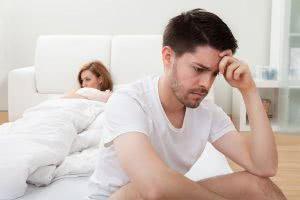 Мужчина и женщина в постели