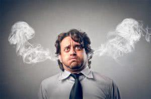 У мужчины стресс