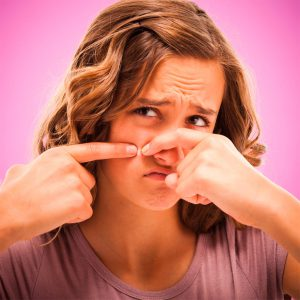 у девушки проблемы с гормонами